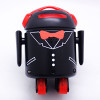 LIMITED EDITION Black Full Dress BERO - Be The Robot™ - Programmable robot, Infrared optical navigation system, 5 motors, high quality light blue shell + FREE World-wide shipping!