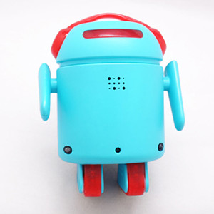 LIMITED EDITION Light Blue BERO - Be The Robot™ - Programmable robot, Infrared optical navigation system, 5 motors, high quality light blue shell + FREE World-wide shipping!